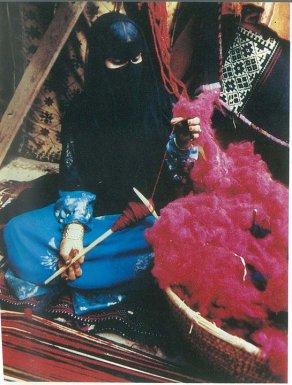Bedouin weaving Kuwait